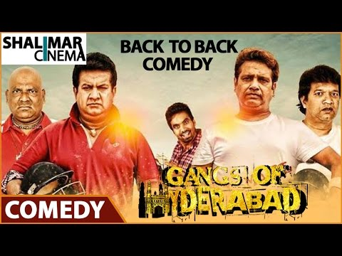 Gangs Of Hyderabad Movie || Comedy Scenes Back To Back || Gullu Dada, Ismail Bhai