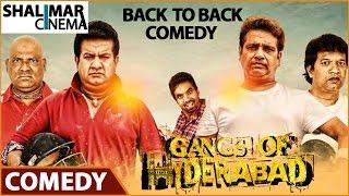 Gangs Of Hyderabad Movie || Comedy Scenes Back To Back || Gullu Dada, Ismail Bhai