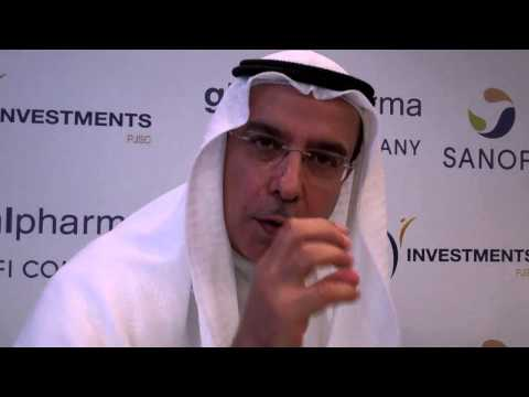 KHALID BIN KALBAN - CEO of Dubai Investments talks to journalist WILLIAM FARIA