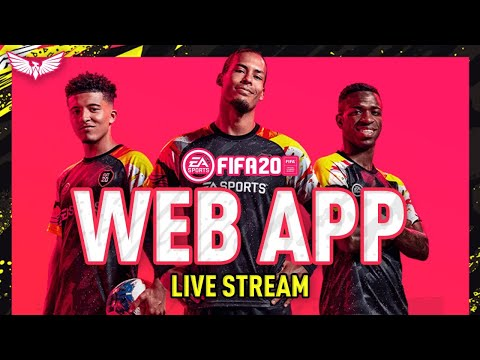 *LIVE* FIFA 20 WEB APP HYPE!!! EA ACCESS OUT TODAY??? PLAY FIFA 20 EARLY ACCESS???