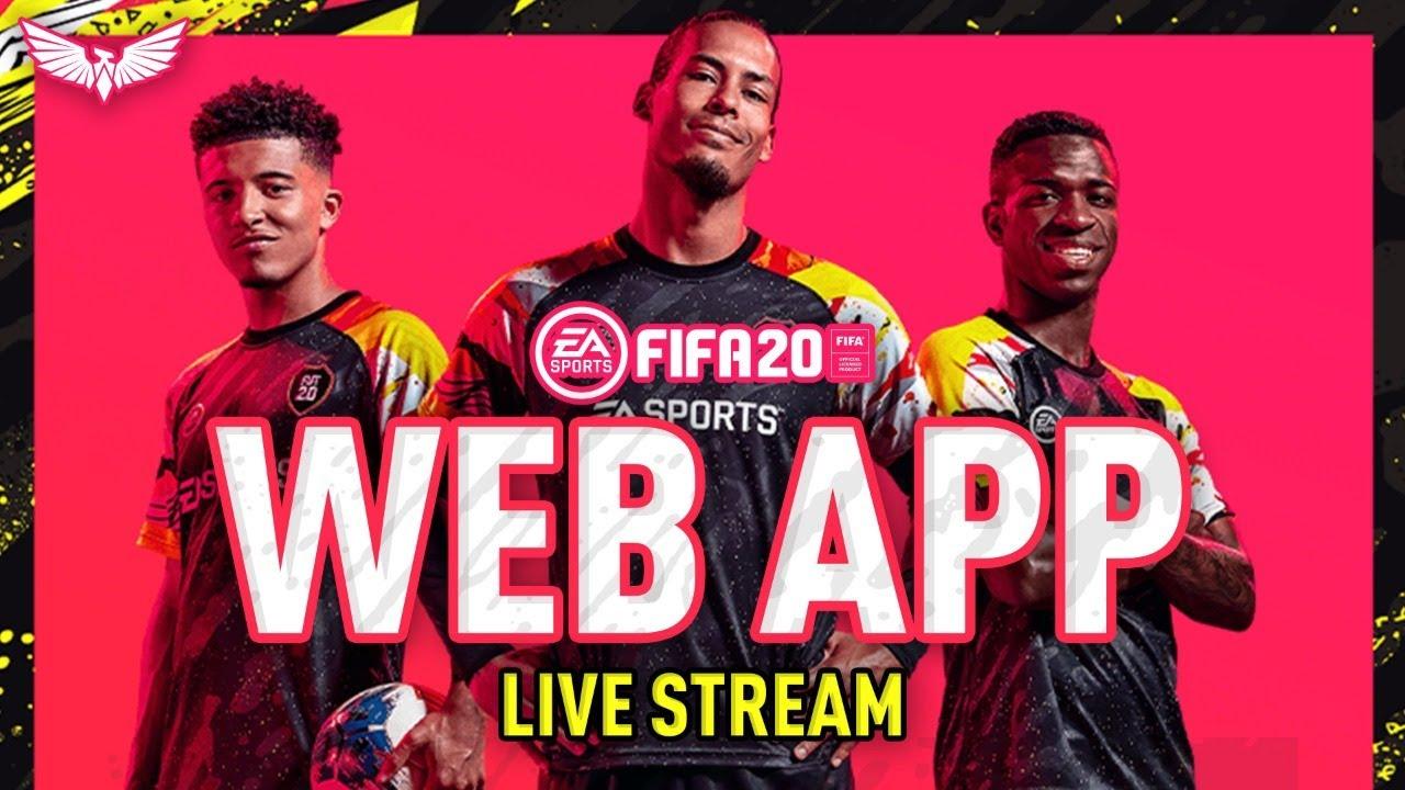 fifa 20 web app - 5 часов
