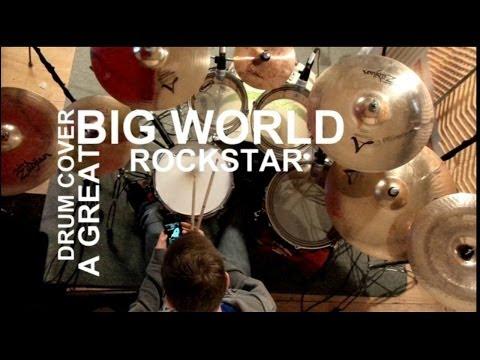A Great Big World - Rockstar (Drum Cover)