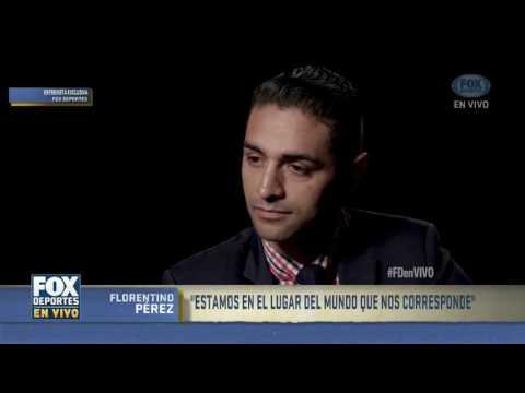 """""""Yo copié lo que hizo Bernabéu"""": Florentino Pérez"""