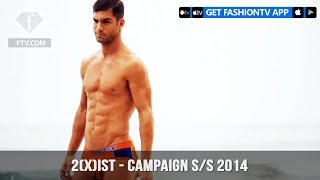 2(X)IST Behind-the-Scenes Spring/Summer 2014 CAMPAIGN in Malibu | FashionTV | FTV