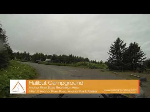 Halibut Campground, Anchor River SRA, Sterling Highway, Anchor Point, Alaska
