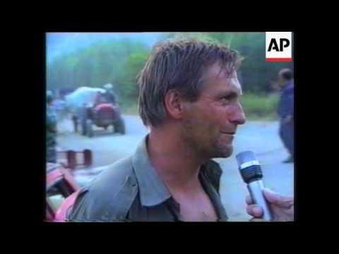 Croatia-Serbs Allege Croat Jets Bombed Refugees