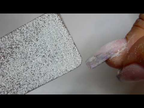 How I HAND FILE artificial nails  --------HAND Filing nails ------REAL TIME