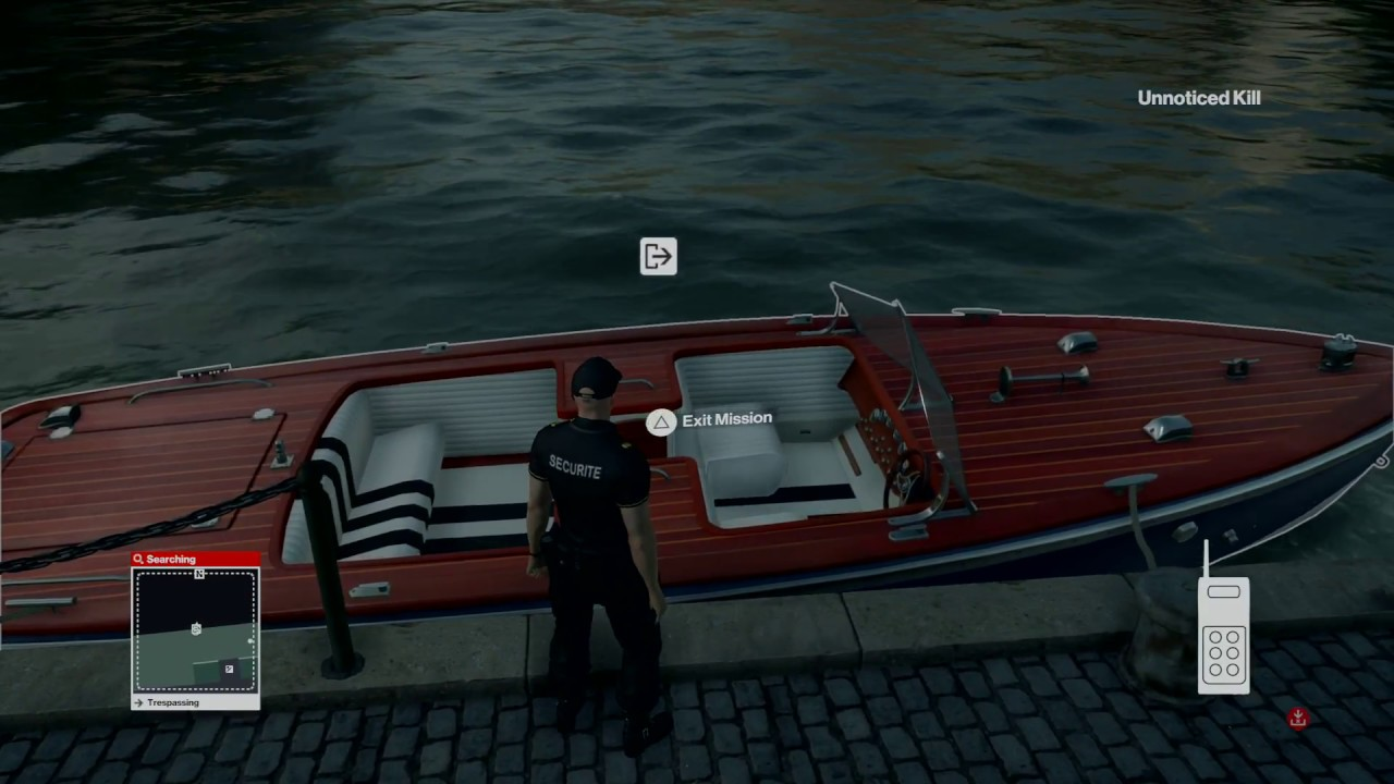 The Hexagon Protocol How To Find Speedboat Key In Paris Hitman