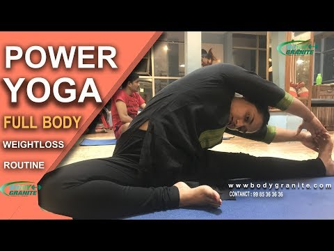 25 minutes power Yoga   రోజు ఇలా 25 నిమిషాలు పవర్ యోగ చేయండి 100 % వెయిట్ లాస్   BODY GRANITE