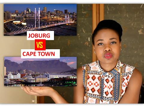 Johannesburg VS Cape Town | Strategic Career Move, Opportunities & Vibe | South Africa