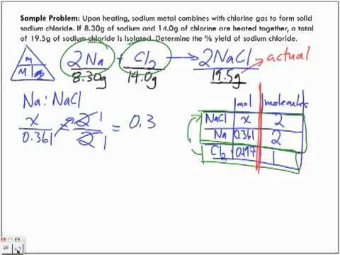 Percentage Yield Actual & Theoretical Yield Lecture - YouTube