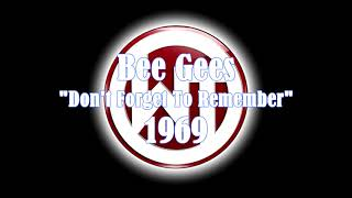 Bee Gees - Don't Forget To Remember 1969