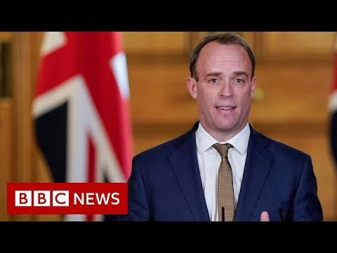 Coronavirus: Don't expect changes to UK lockdown this week - Raab - BBC News