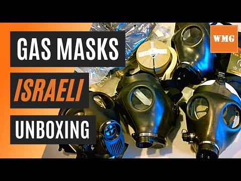 Israeli Gas Mask Unboxing - Swiss Bag & NBC type 80, 40 mm filter - WhatsMyGear.com - Gear Review