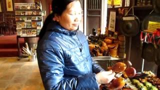 Vietnamese wooden fish percussion instrument