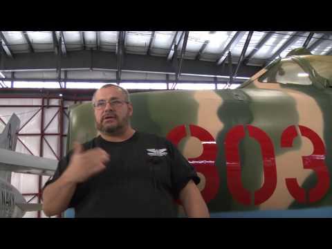 MiG restoration at Pueblo Weisbrod Aircraft Museum