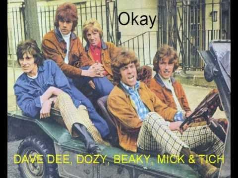 DAVE DEE, DOZY, BEAKY, MICK & TICH - Okay.wmv