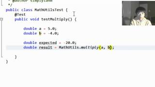JUnit 4 Tutorial - Your first Java Unit Test