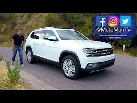 2018 VW Atlas SUV TECH REVIEW (1 of 2)