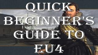 Quick Beginner's Guide to EU4