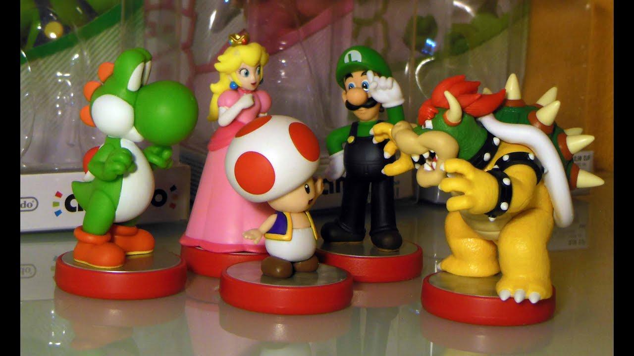 Amiibo bowser toad luigi peach y yoshi mario party - Luigi mario party ...