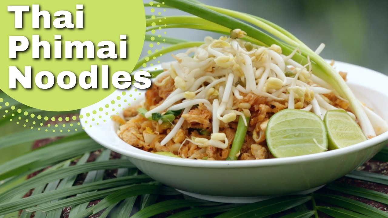 thai noodles (pad mie moo) recipe, duncan's thai kitchen