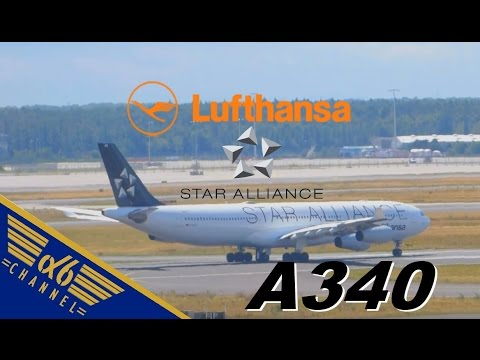 [STAR ALLIANCE] Lufthansa Airbus A340-313X |D-AIGC| Takeoff @ Frankfurt Airport