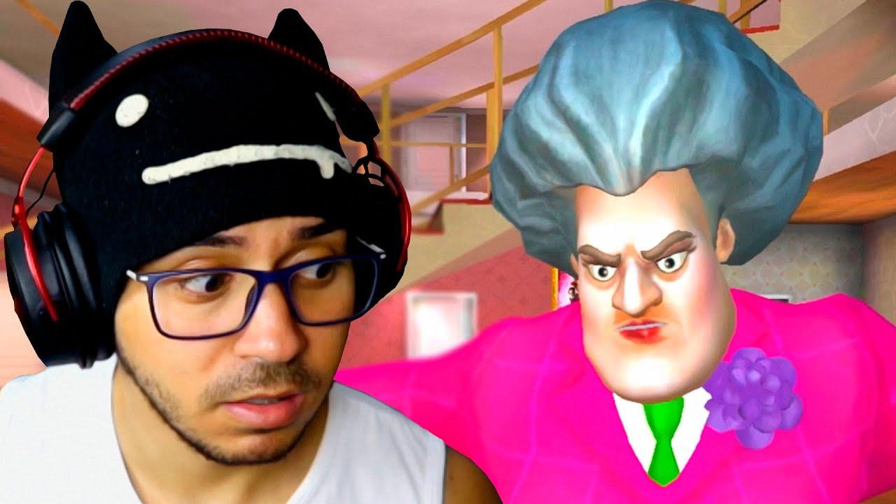 Trollando A Professora Malvada Scary Teacher 3d Youtube