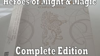 Heroes of Might and Magic Complete Edition Unboxing & Review (PC)