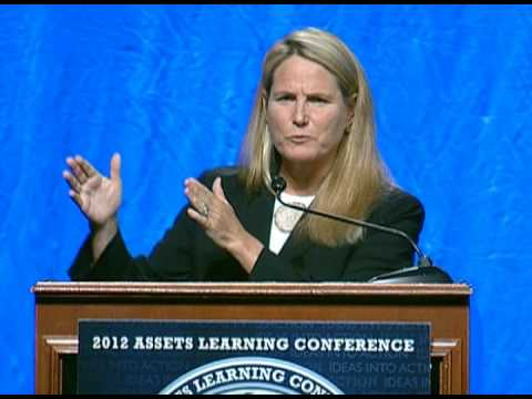 Anne Mosle speaks at the 2012 Assets Learning Conference in ...