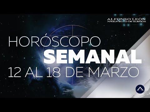 HORÓSCOPO SEMANAL | 12 AL 18 DE MARZO | ALFONSO LEÓN ARQUITECTO DE SUEÑOS
