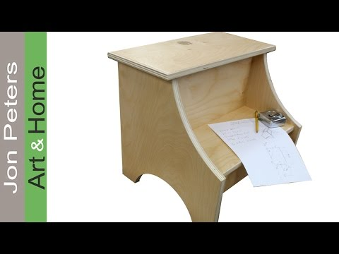How To Build A Simple Step Stool Garnica Plywood Build