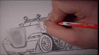 How to easy draw- TRUCK  (Caricature) (www.facebook.com/bis.stunt)