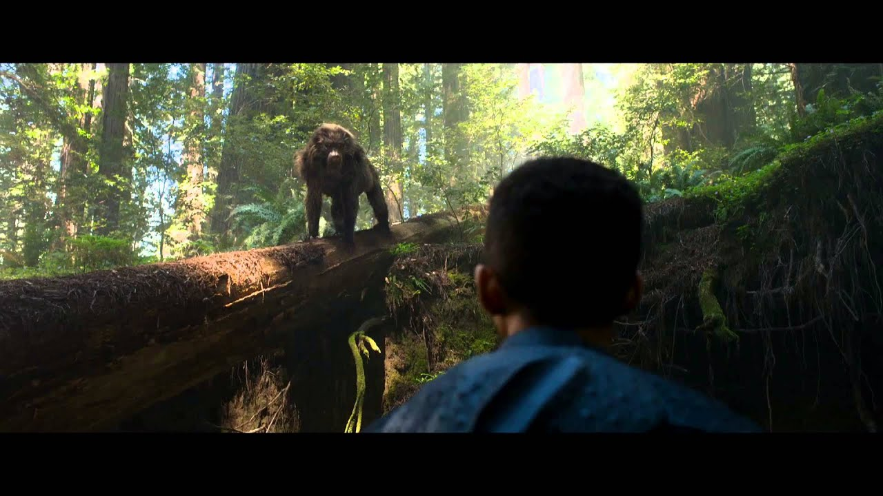 after earth film clip -  u0026quot monkey discovery u0026quot  - hd