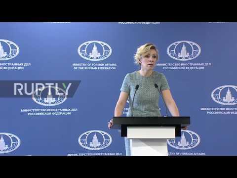 Russia: Zakharova invites CNN for an 'honest interview' with 'Aleppo boy' Omran Daqneesh
