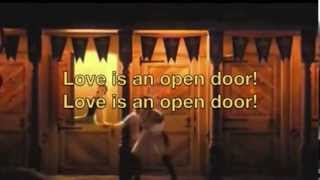 Love Is an Open Door - Kristen Bell and Santino Fontana [from Frozen] (with Hans lyrics)