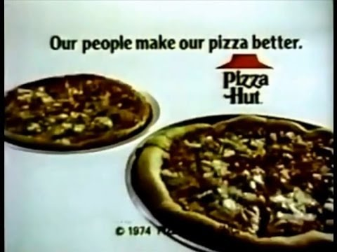 Pizza Hut 'Family' Commercial (1976) - YouTube