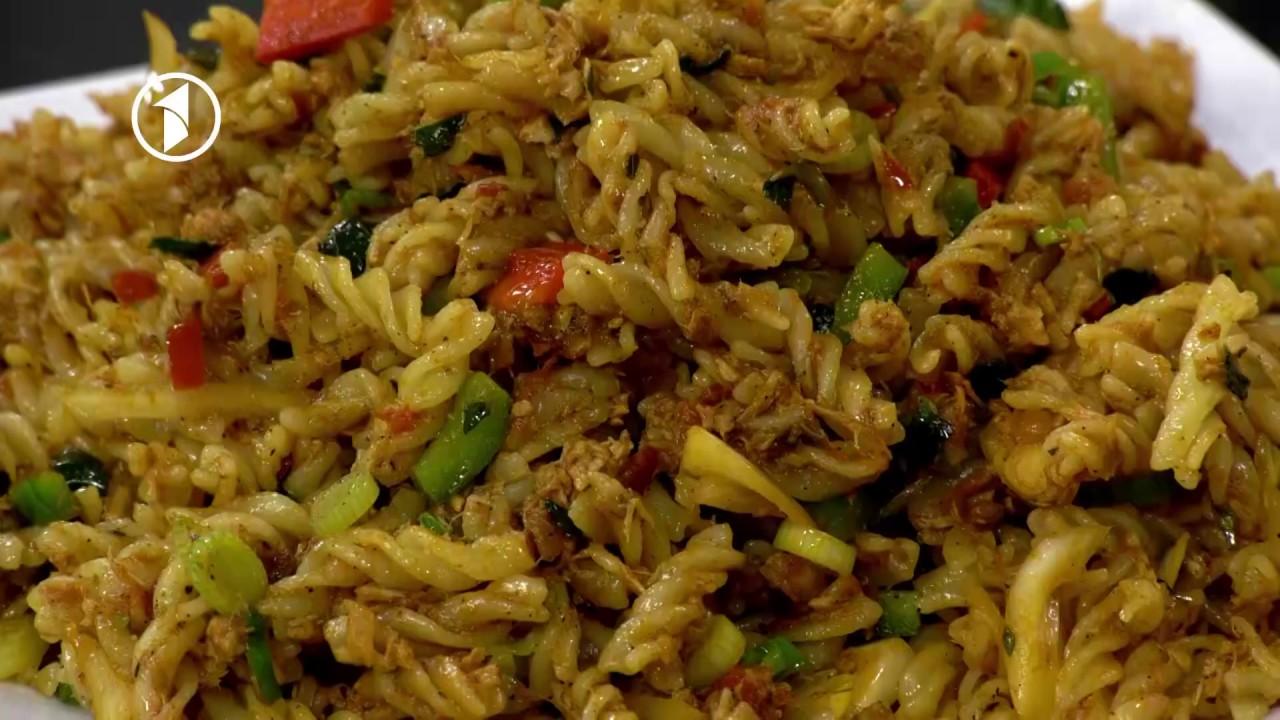 Ashpazi - Makaroni ba Gosht Mahi - آشپزی - مکرونی با گوشت ماهی
