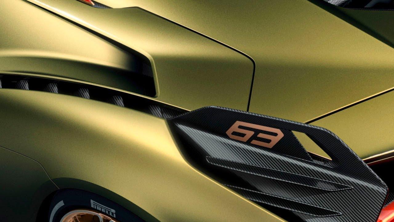 Lamborghini Sian LLA09085 introduction at Frankfurt 2019