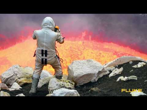 Thermal Imager confirms that lava is super hot