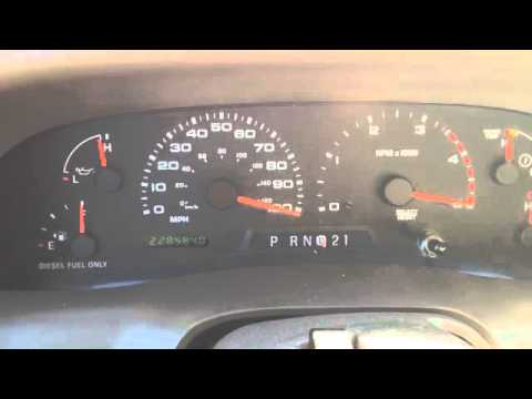 Ford Superduty Instrument Cluster Issues Doovi