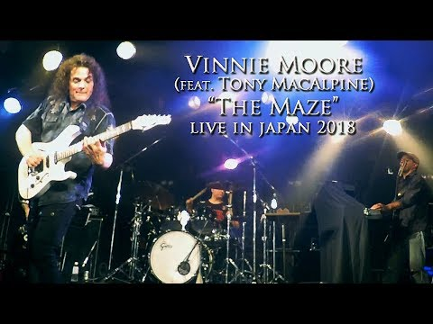 Vinnie Moore - The Maze (feat. Tony MacAlpine) - Live in Japan 2018