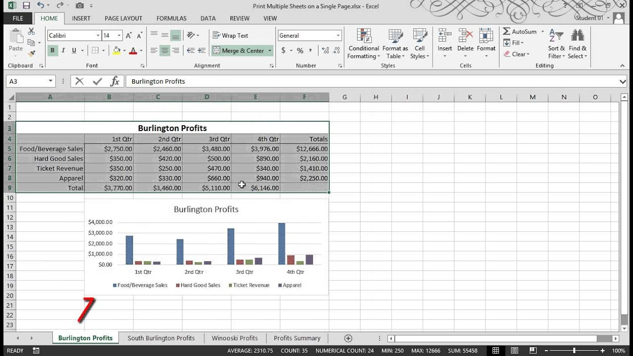 learn how to use excel sheet