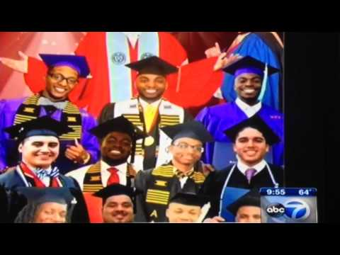 ABC 7 Chicago Gives a Shout-Out to 2015 College Grads