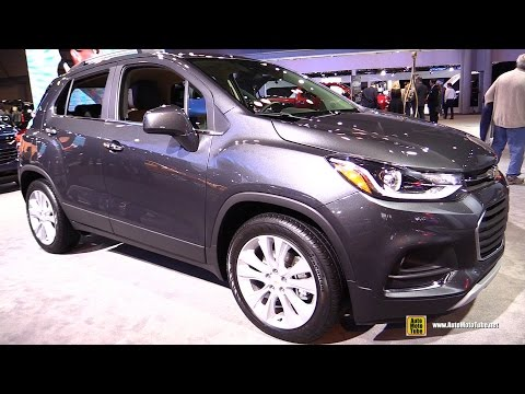 2017 Chevrolet Trax - Exterior and Interior Walkaround - 2016 New York Auto Show
