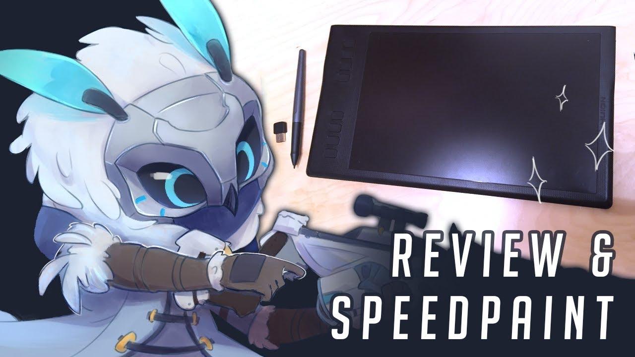 Huion Inspiroy Q11K review + Ana speedpaint on SAI