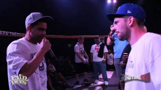 Grind Time Now / Paid Dues presents: Dizaster vs Real Deal