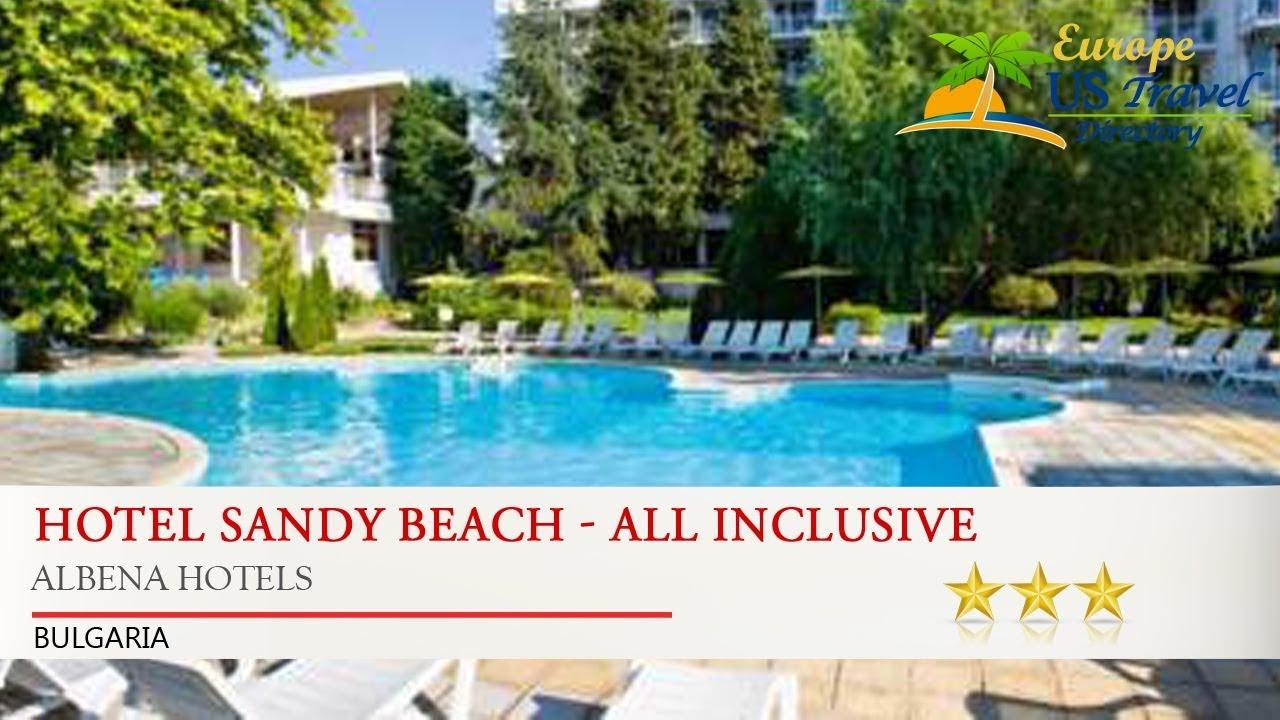Hotel Sandy Beach All Inclusive Albena Hotels Bulgaria