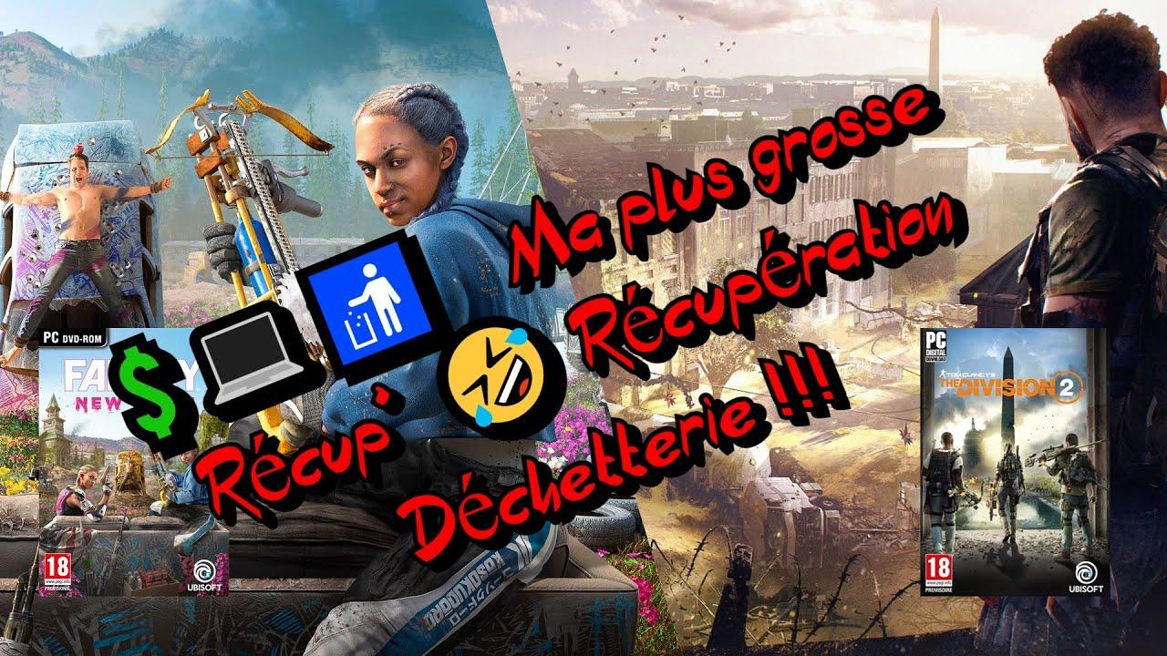 💲💻🚮 Ma plus grosse Récup'🤣  | Récupération Déchetterie !!!