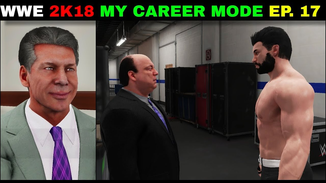 WWE 2K18 My CAREER MODE Ep.17 - Mr. McMahon DRAFT Rocky On RAW & WWE Championship Vaccant   
